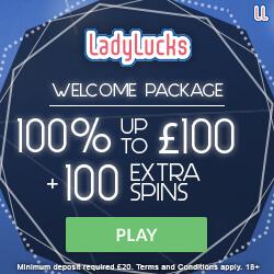 Ladylucks Welcome Bonus Offer