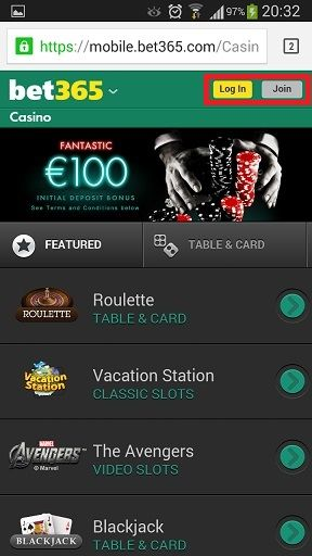 bet365 casino mobile download