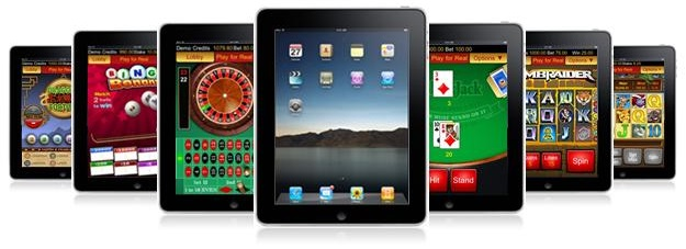 Casino games on iPad