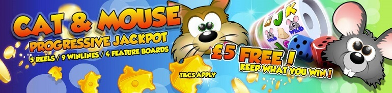 Mobile Casino Game - Cat & Mouse