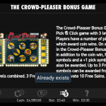 Crowd Please Bonus Game